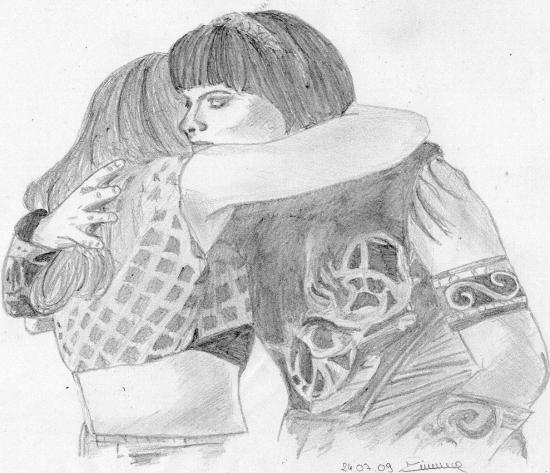 Renee O'Connor, Lucy Lawless par melaniez88